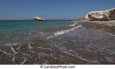 Cyprus Aphrodite rocks - Cyprus View of Aphrodite rocks.