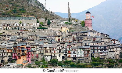 Medieval Village in France - Medieval Village Of Tende,...