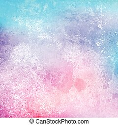 Grunge watercolor texture background using pastel colours