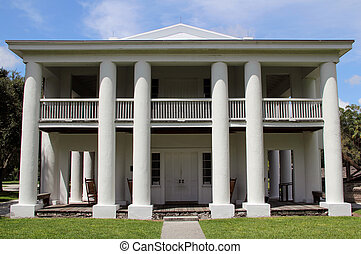 Antebellum Plantation Home - Gamble Plantation Historic...