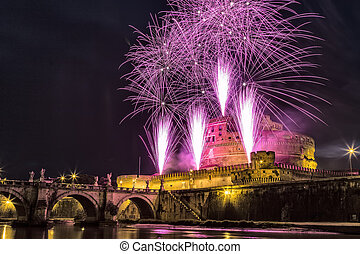 Pinwheel of Castel Sant'Angelo - The seventh edition of the...
