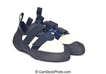 climbing shoes - isolated climbing shoes