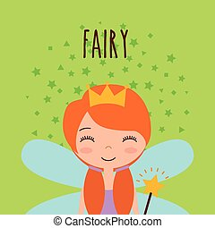 cute little fairy character