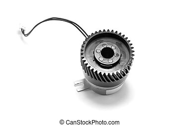 Electromagnetic clutch - Closed up electrical device -...