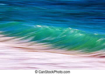 Long exposure waves