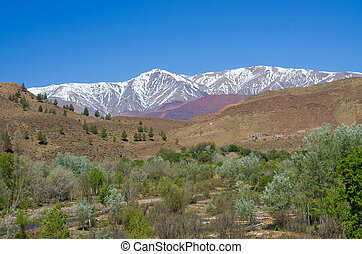 Atlas mountains in Morocco, Africa