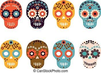Sugar skulls - Day of the Dead