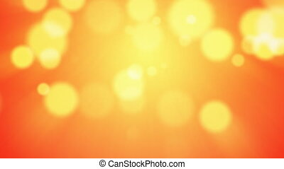 Abstract bokeh background - Abstract warm colored bokeh...