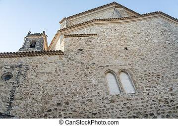 Cuenca Spain, old church - Cuenca Castilla-La Mancha, Spain,...