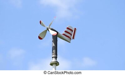 Weather instrument wind speed - Weather instrument for...
