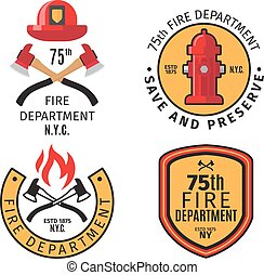 Firefighter emblems and badges - Firefighter emblems and...