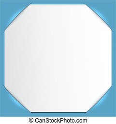 Photo frame corners. Vector.