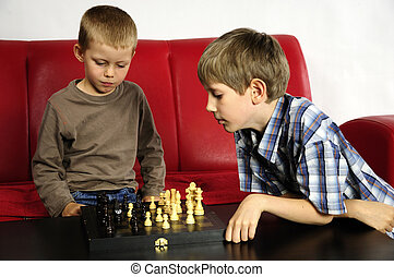 playing boys