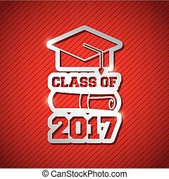 congratulations class of 2017 card - congratulations classof...