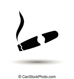 Graphic tablet icon. White background with shadow design....