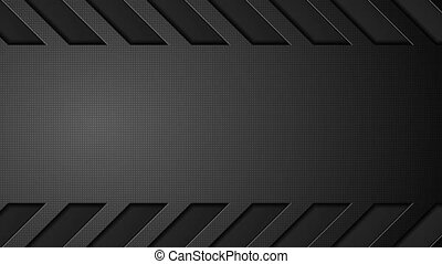 Abstract black concept tech video animation - Abstract black...
