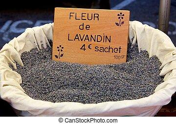 籃子, 市場, 淡紫色, 法語