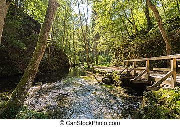 Beautiful landscape in Swabian Alb - Beautiful landscape...