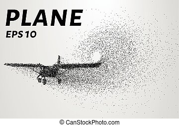 The plane of the particles. Agricultural aircraft consists...