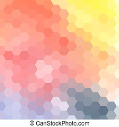 Bright abstract pattern polygons - Graphic geometric vector...