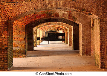Fort Taylor Interior - Fort Zachary Taylor Historic State...