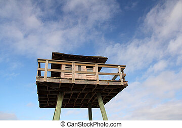 Submarine Watchtower - Historic World War II Watchtower in...