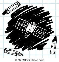 Doodle, Satelici