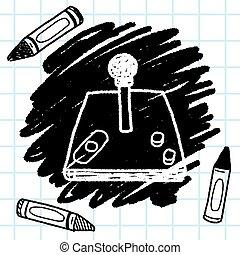 Doodle joystick