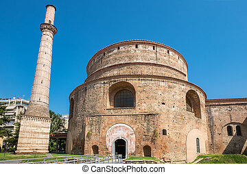 Rotunda of Galerius. Thessaloniki, Greece - The Rotunda of...