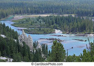 Bow River near Banff