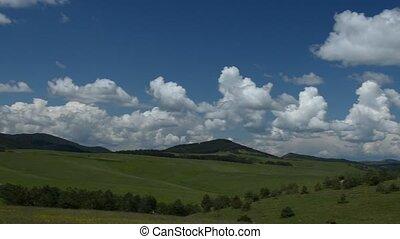 Panning Over Landscape - Camera panning over landscape of...