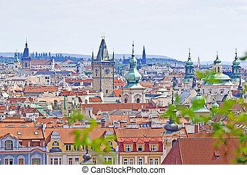 Prague, Overview from Letna, Czech Republic