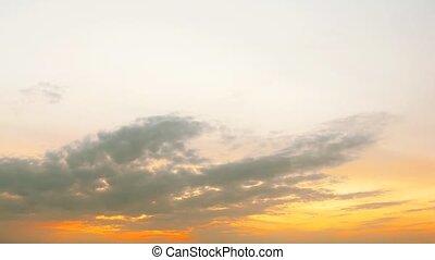 fantastical sunrise.  time-lapse HD