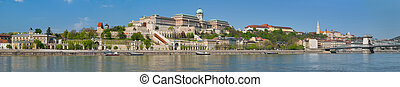 Panorama of Budapest in the morning - Panorama of Budapest...
