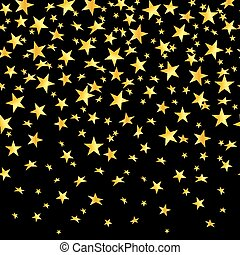 Falling-stars-gold-black-seamless-background [Converted].eps...