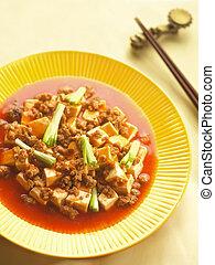 traditional szechuan ma po tofu