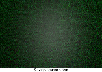 Textile texture - A vintage cloth book cover with a green...