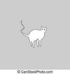 Evil Cat computer symbol