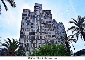 Arquitectura moderna edifios oficin - arquitectura,...