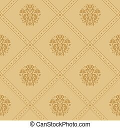 Background victorian regal. Pattern in style baroque...