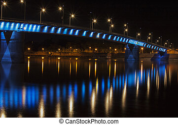 "Rainbow bridge Novi sad, Serbia - Petrovaradin, ""Rainbow""..."