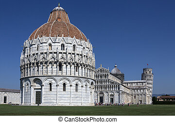 Cathedral Square - Pisa - Italy - Cathedral Square (Piazza...