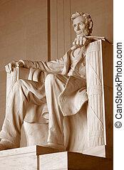 Lincoln, monumento conmemorativo