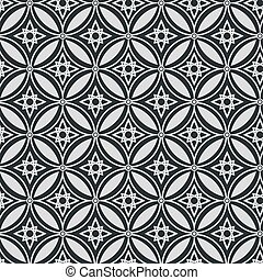Abstract geometric seamless vector pattern. EPS 10.