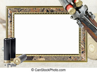 hunting frame for photo - frame for photo with hunting...