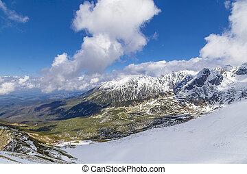 Ski Resort in Zakopane - Mountain landscape - Ski Resort in...