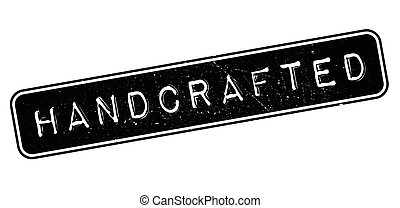 Handcrafted rubber stamp - Handcrafted, rubber stamp on...