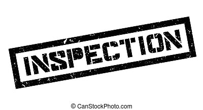 Inspection rubber stamp