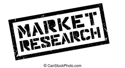 Market Research rubber stamp on white. Print, impress,...