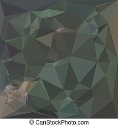 Light Sea Green Abstract Low Polygon Background - Low...